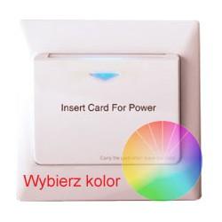 Wyłącznik prądu Mifare S1 - kolor
