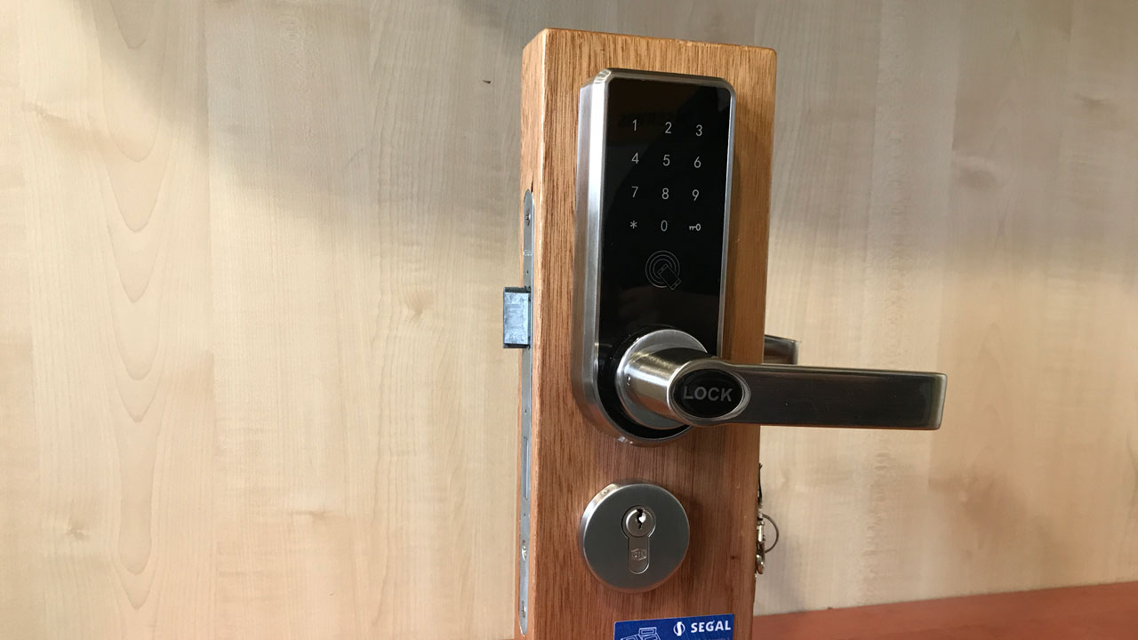 E Lock Bt401 Zamek Na Kod Karte I Bluetooth